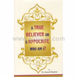 Picture of A True Believer Or A Hypocrite, Who Am I?