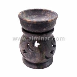 """Picture of Oil Diffuser Round Small 2.5""""( soap stone)"""